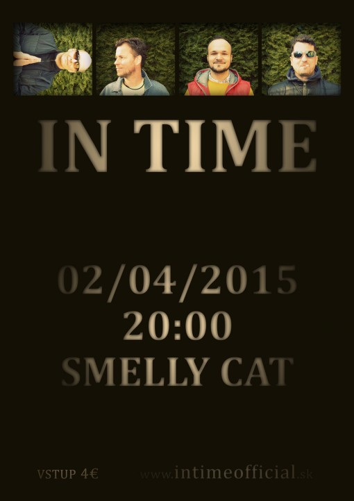IN TIME PLAGAT SMELLY CAT 0204